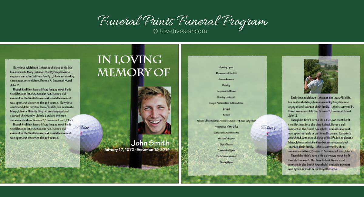 Funeral Programs