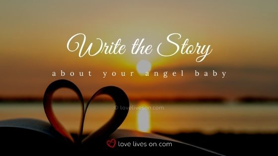 Write a story about your rainbow baby and angel baby